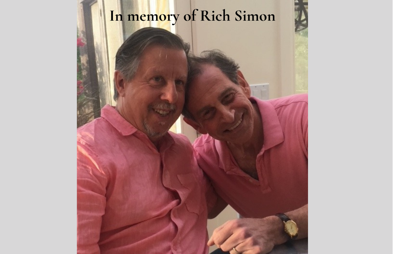 Dick Schwartz and Rich Simon